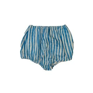 Douuod Striped Mini Shorts w/ Tags, Blue, Size S